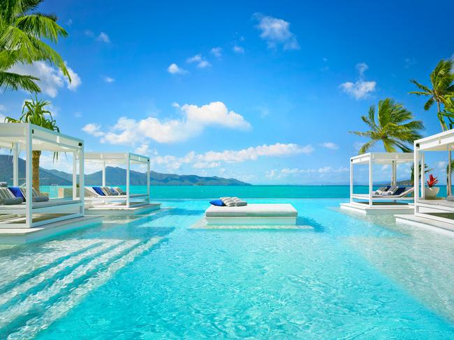 Five-star resort One&Only on Hayman Island is a possible location for Carey and Packer's upcoming wedding. Picture: Supplied