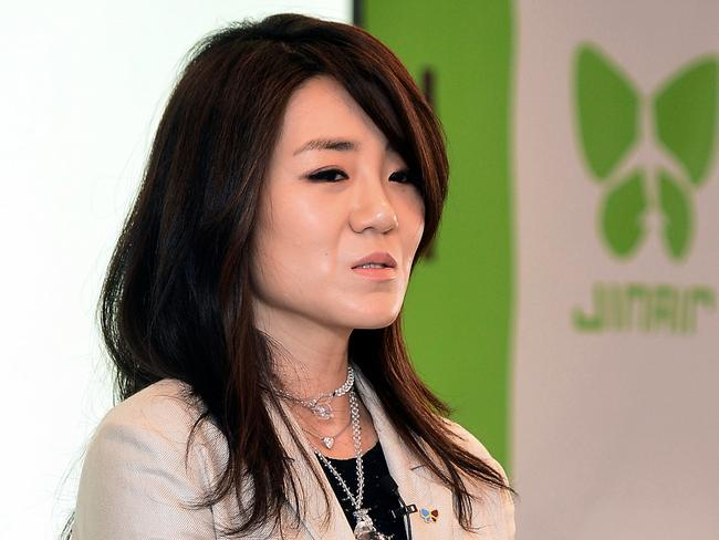 Emily Cho, the airline's senior vice president, has also been sacked after a scandal of her own. Picture: Kang Jin-hyung/Newsis via AP