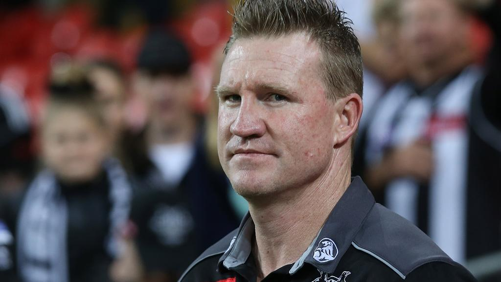 The pressure is off Nathan Buckley for the moment. Picture: Getty Images