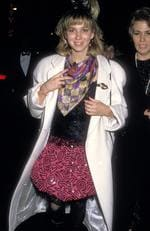Another blast from the past - 80s pop star Debbie Gibson in a bit of this and bit of that at the 1988 Grammys. Picture: Ron Galella/WireImage