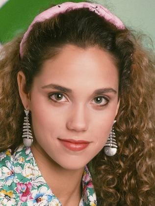Elizabeth Berkley played brainy Jessie Spano.