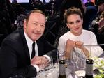 Kevin Spacey and Natalie Portman pose during The 23rd Annual Screen Actors Guild Awards at The Shrine Auditorium on January 29, 2017 in Los Angeles, California. Picture: Getty
