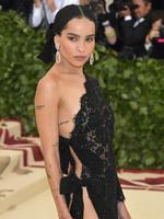 Zoe Kravitz attends the Heavenly Bodies: Fashion and The Catholic Imagination Costume Institute Gala at The Metropolitan Museum of Art on May 7, 2018 in New York City. Picture: Getty Images
