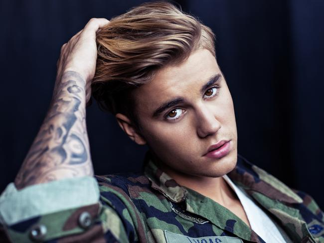 Fans and followers targeted ... Islamic State has infiltrated social media conversation about Justin Bieber. Picture: Supplied / Universal Music