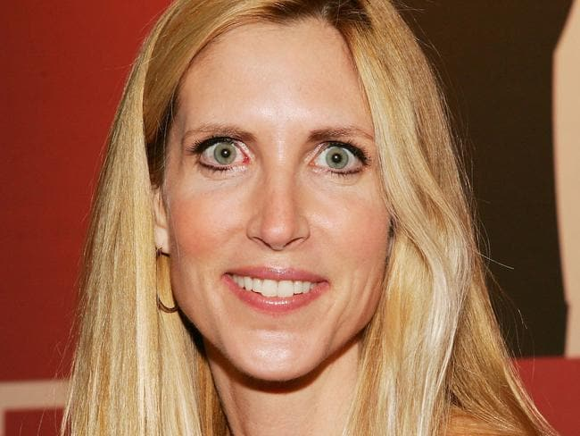 Ann Coulter does not have a long attention span.
