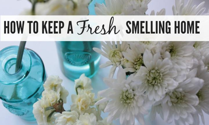 How to keep a fresh-smelling home