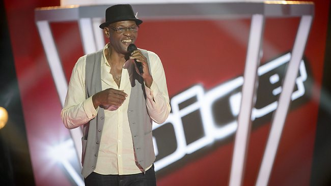 The Voice contestant Steve Clisby after his blind audition. Picture: Channel 9