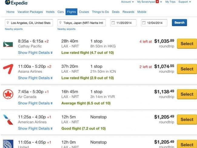 How the rating will look online. Picture: Expedia