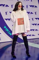 Noah Cyrus attends the 2017 MTV Video Music Awards at The Forum on August 27, 2017 in Inglewood, California. Picture: AFP
