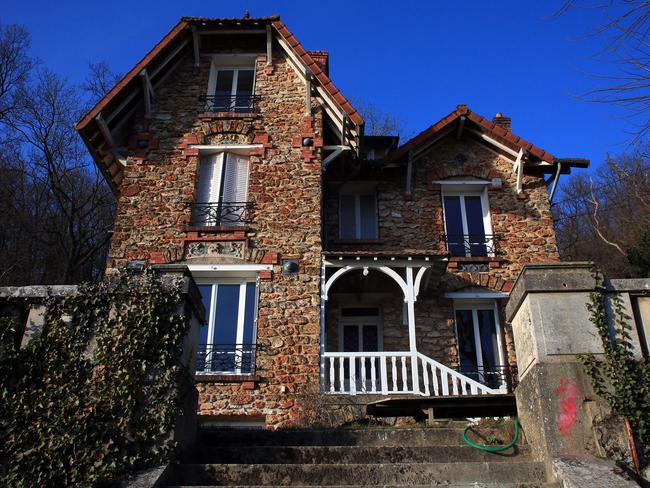 It was a grisly find for the renters of this Airbnb property. Picture: AP Photo/Thibault Camus