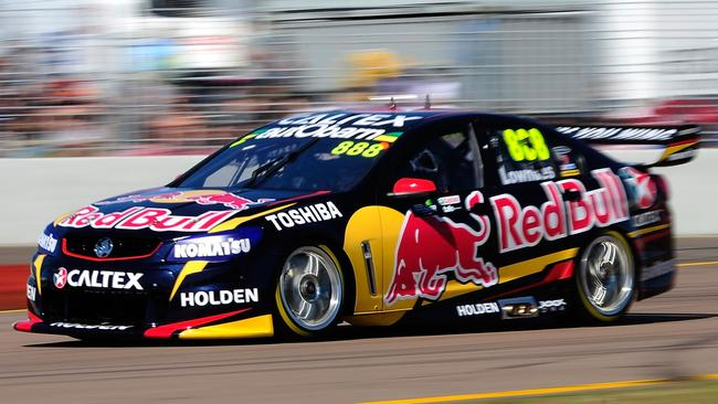 Lowndes was the fastest man in qualifying for Race 22.
