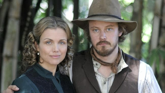 Actors Bridie Carter and Michael Dorman in Seven series Wild Boys. Supplied by channel 7.