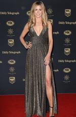 Lara Pitt at the 2017 Dally M Awards held at The Star in Pyrmont. Picture: Christian Gilles