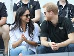 Prince Harry and Meghan Markle attend a Wheelchair Tennis match during the Invictus Games 2017 at Nathan Philips Square on September 25, 2017 in Toronto, Canada. Picture: Getty Images