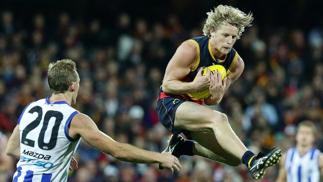 Rory Sloane is a warrior on the field and a bit of a clown off it. Picture: Sarah Reed