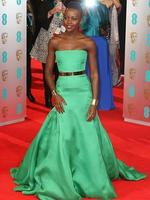 12 Years a Slave actress Lupita Nyong'o attends the EE British Academy Film Awards 2014 at The Royal Opera House on February 16, 2014 in London, England. Picture: Getty