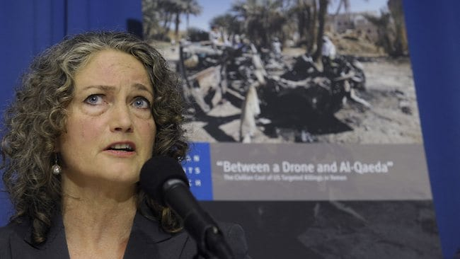 Letta Tayler, senior counterterrorism researcher at Human Rights Watch, talks about the findings of two new reports, by Amnesty International and Human Rights Watch, on US drone strikes and other air strikes in Pakistan and Yemen.
