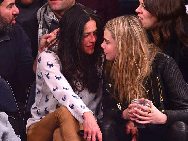 Whirlwind romance ... Michelle Rodriguez and Cara Delevingne haven't confirmed reports they've split. Picture: James Devaney/WireImage