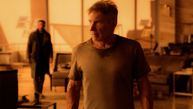 Harrison Ford reprising his iconic role Rick Deckard. Photo: Sony