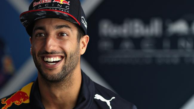 Daniel Ricciardo Sees The Lighter Side Of Life In Brazil