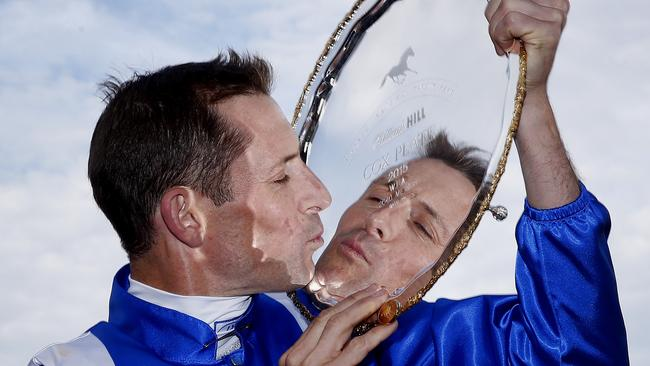 Hugh Bowman picked up last year's Cox Plate, arguably the greatest race in Australia.