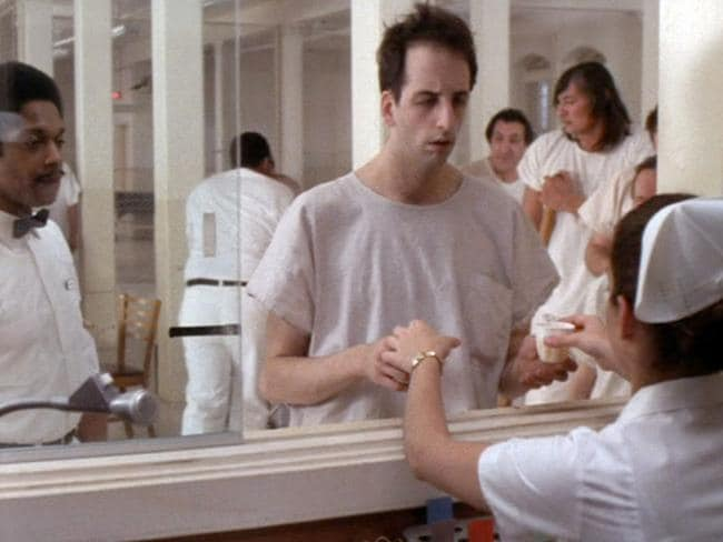 Medication time ... A scene from 1975 cult film  <i>One Flew Over The Cuckoo's Nest</i>