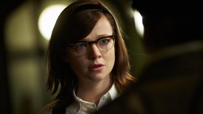 Extraordinary ... Sarah Snook in a scene from Predestination.