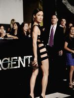 Actress Maggie Q in Anthony Vaccarello. Picture: Getty