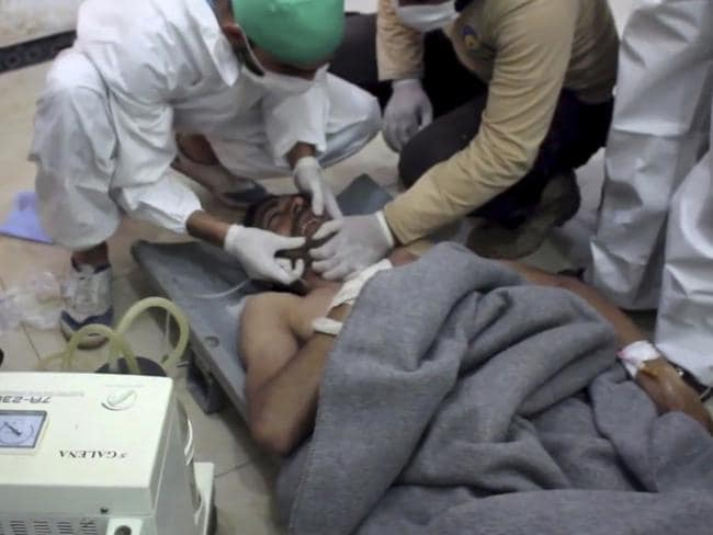 Image result for Syria chemical attack
