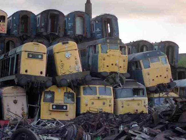 Train Graveyards What Sydney Trains Are Doing With