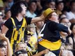 The misery continues for Richmond supporters in a match against the Bulldgos at Etihad Stadium.