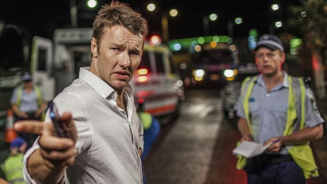 Scratching their heads ... Joel Edgerton in Felony. Picture: Supplied.