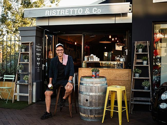 Frank Angilletta at Ristretto & Co. Picture: Gary Healey