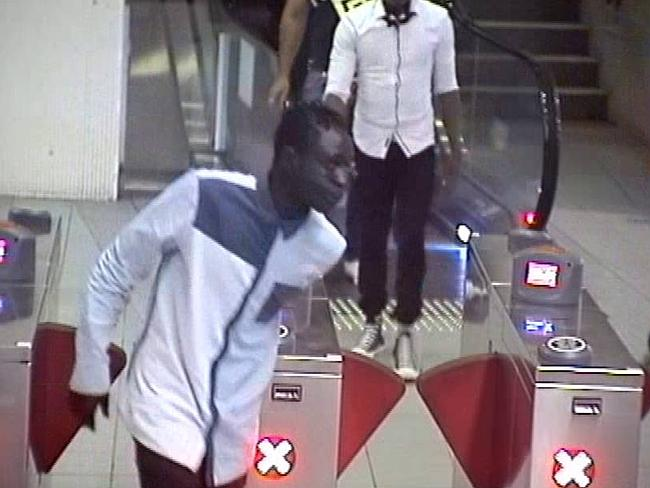 This image was captured by CCTV at Parramatta Railway Station.