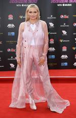 Alli Simpson arrives at the 31st ARIA Awards at The Star, in Sydney, Tuesday, November 28, 2017. Picture: AAP Image/Dan Himbrechts