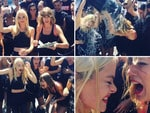 Actress Jaime King and singer Taylor Swift... VIEW VIDEO Picture: Instagram