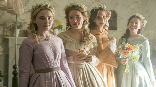 The new March sisters. Photo: BBC/PBS