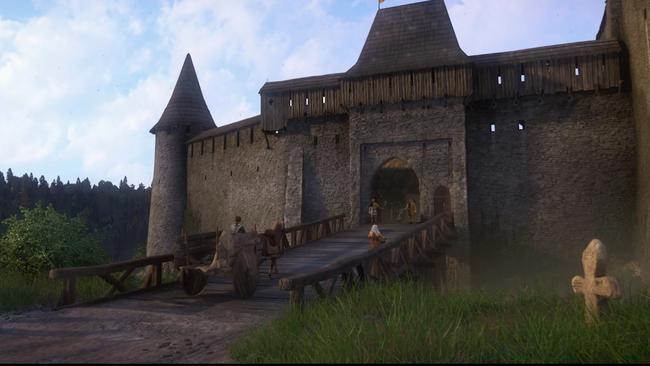 The game is a super realistic Medieval RPG that's going gangbusters in the gaming community at the moment