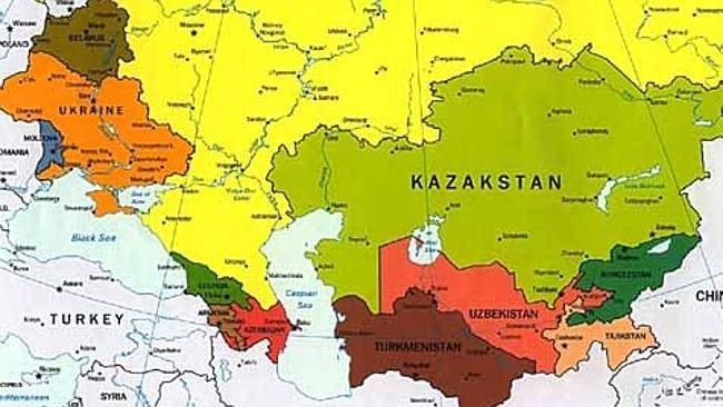 """Yes, we know there should be an """"h"""" in Kazakhstan. Blame the map guys."""