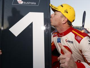 Supplied Unknown Supercars driver Scott McLaughlin wins race 1 in Townsville. Images 1 of 2