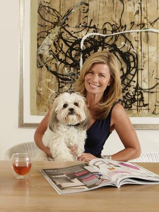 Homebody ... Deborah's nights have gone from glitzy to low-key, including nights on the couch with her dog Billie.