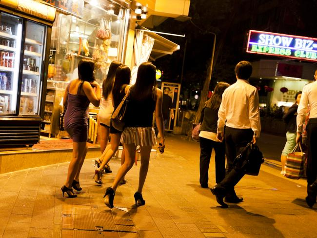 Officially, prostitution is illegal in mainland China. Picture: iStock.