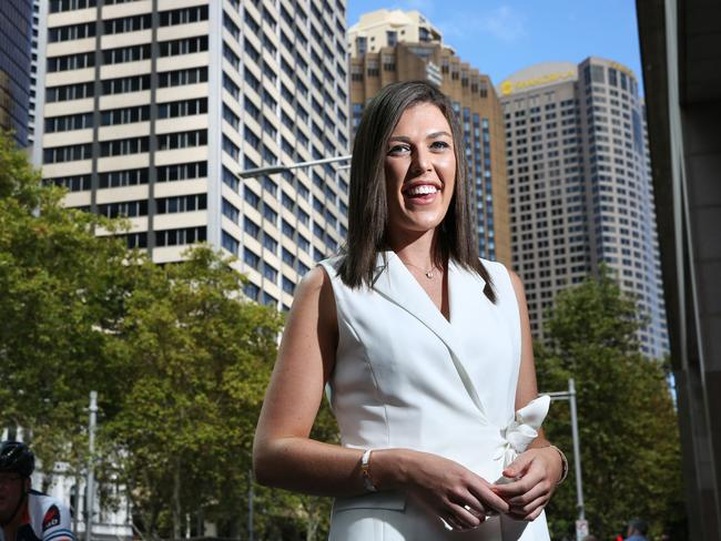 Rebecca Pratt, 23, says she didn't learn about superannuation in school. Photo: Bob Barker