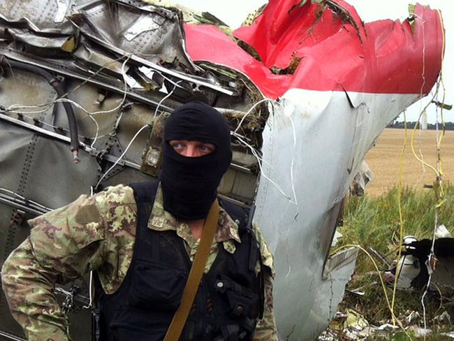 Pro-Russian separatists in the region and officials in Kiev have blamed each other for the crash.