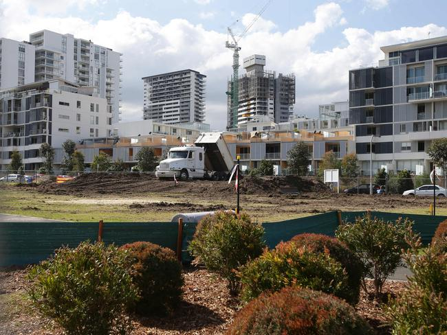Rising Rhodes landscape: Sydney's apartment boom heads west.
