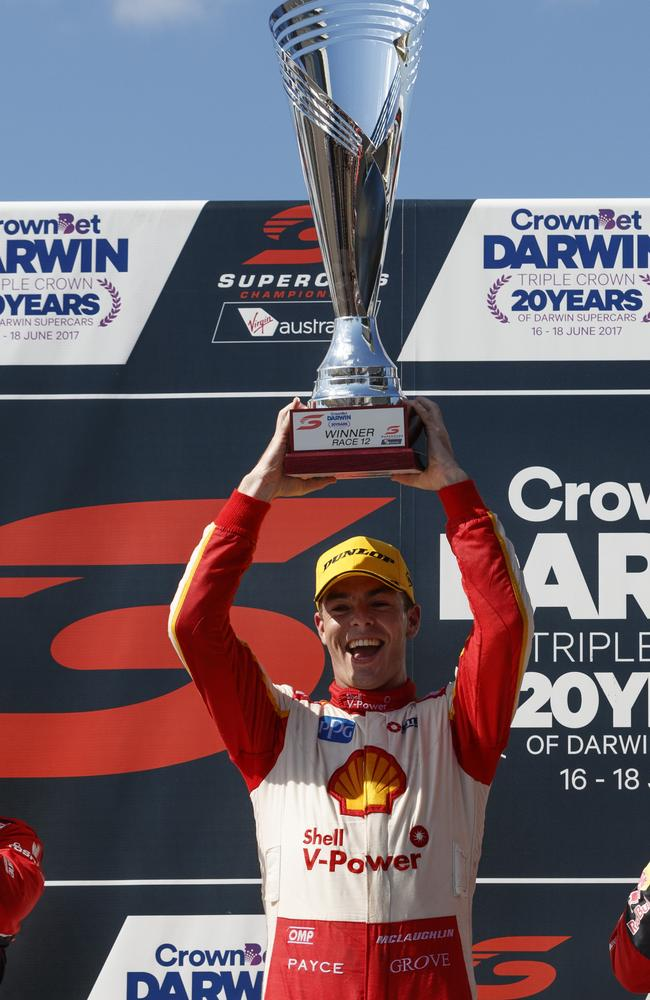 Scott McLaughlin re-emerged as a championship contender with his win