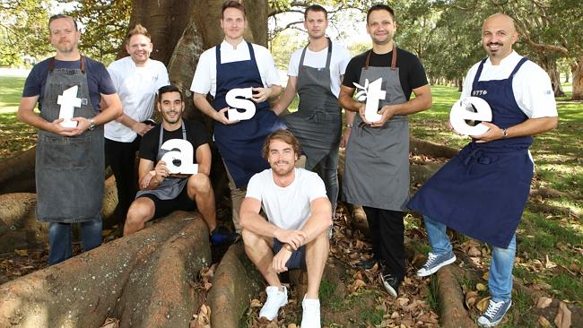 Chefs Mike McEnearney, Nelly Robinson, Julian Cincotta, Wayne Brown, Stephen Seckold, Lennox Hastie, Hayden Quinn and Richard Ptacnik will be at Taste of Sydney at The Brazilian fields, Centennial Park.