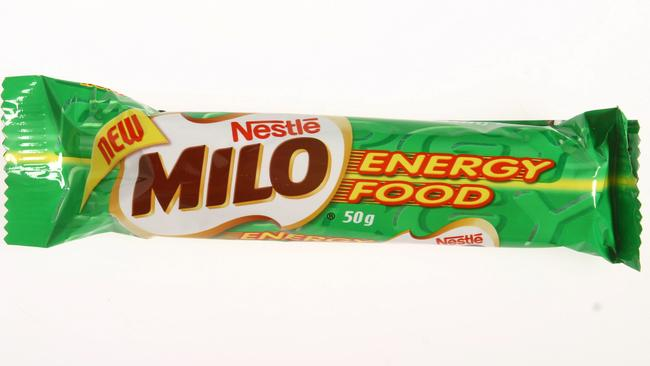 Milo covered in chocolate — heaven!