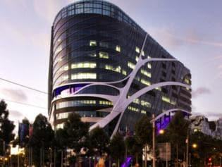The top floor of the new Victorian Comprehensive Cancer Centre is now available for lease through CBRE.