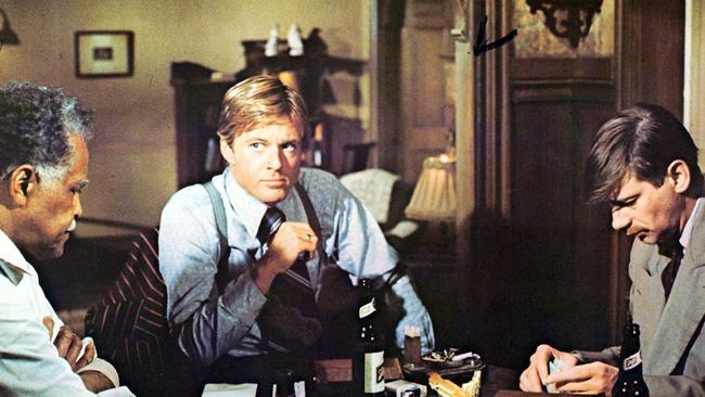 The Sting was a Robert Redford classic.